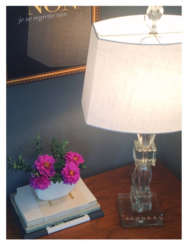Bringing more light into my everyday with a fancy lamp from the flea & a the perfect shade to match! We talked with the experts here, to find the perfect one!