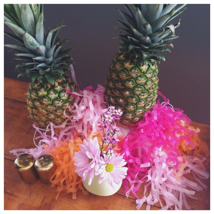 This past summer, we did a series of party planning posts with a successful and fun party at the end of it all. Throughout the posts we shared festivities, foodand invite. It may be a little late for a pineapple party now, but that doesn't mean you can't plan for the future!