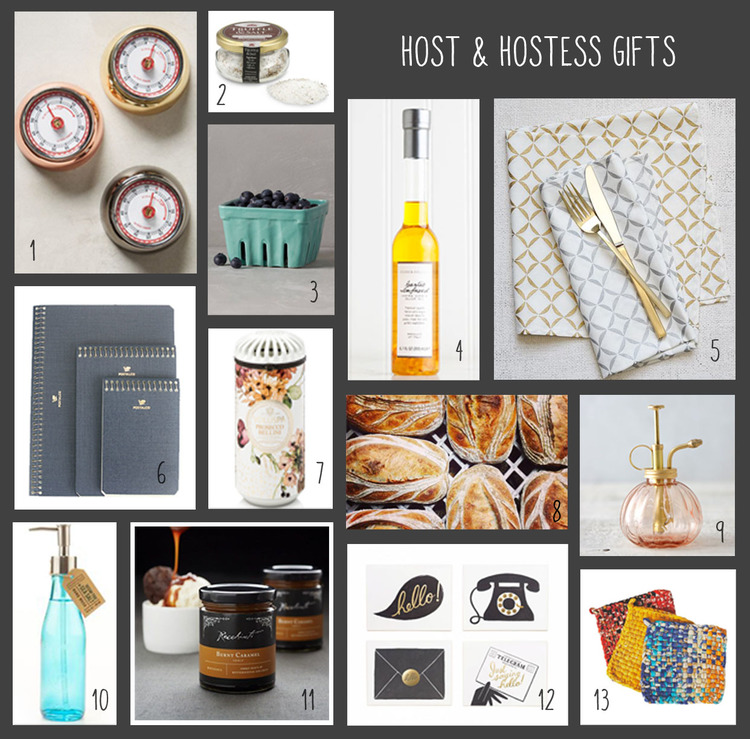 It isn't always about planning a party, sometimes going to parties is just as much fun if not more, but finding the perfect host/hostess gift can be tricky. We pulled together some of our favorites that we think can go all season long!