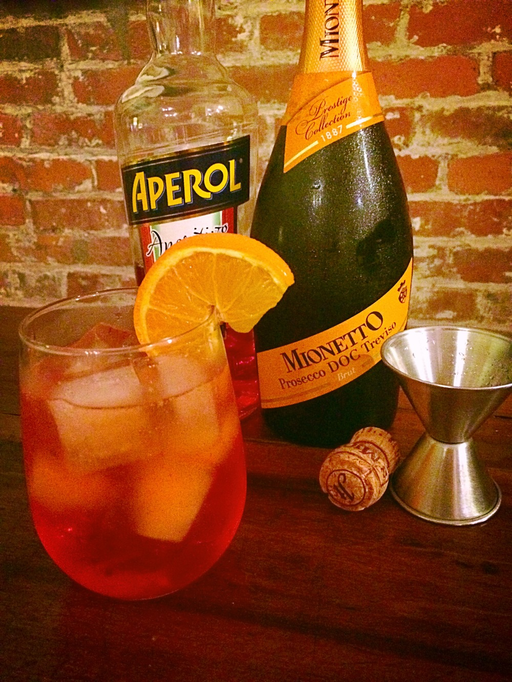 The Aperol Spritz was a new find for me this past September while I was traveling through Italy and I have to say it is now one of my favorites. The combination of Prosecco and Aperol is so refreshing and perfect as an aperitif! Find out how to make it here!