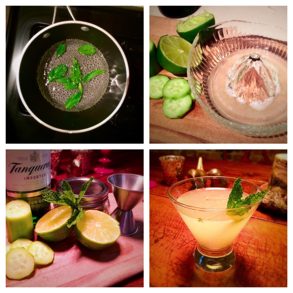 Despite chilly temperatures, I'm still majorly in the mood for good gin cocktails and this cucumber mint gimlet we shared last December does not disappoint! Also check out the Bibimbap inspired recipe shared with this drink- it's a great everyday recipe that is good for one or a large group!