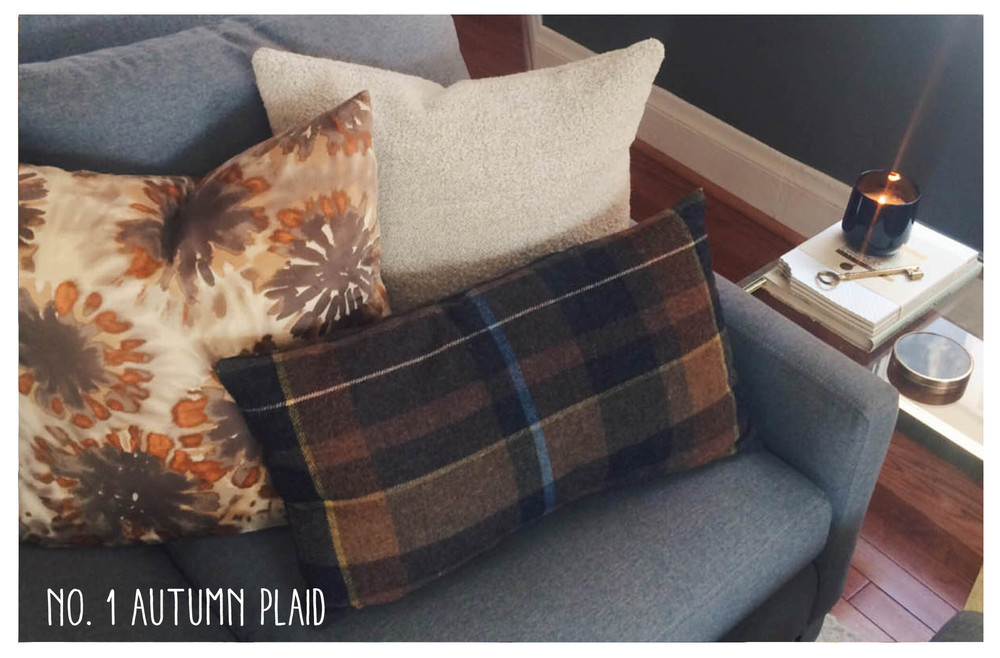 Color & bold pattern, mixed with a few neutrals - and maybe a bit more masculine...