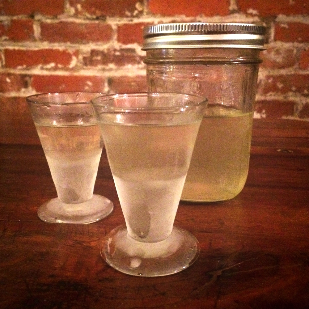 Sweet sipping! Ice cold Limoncello is the perfect after dinner treat! This would also make a great homemade gift!