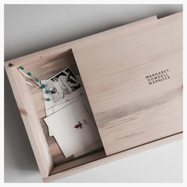 A beautiful wooden box from Artifact Uprising to keep all the special notes and trinkets dad's collect.The perfect gift for a new dad for sure!