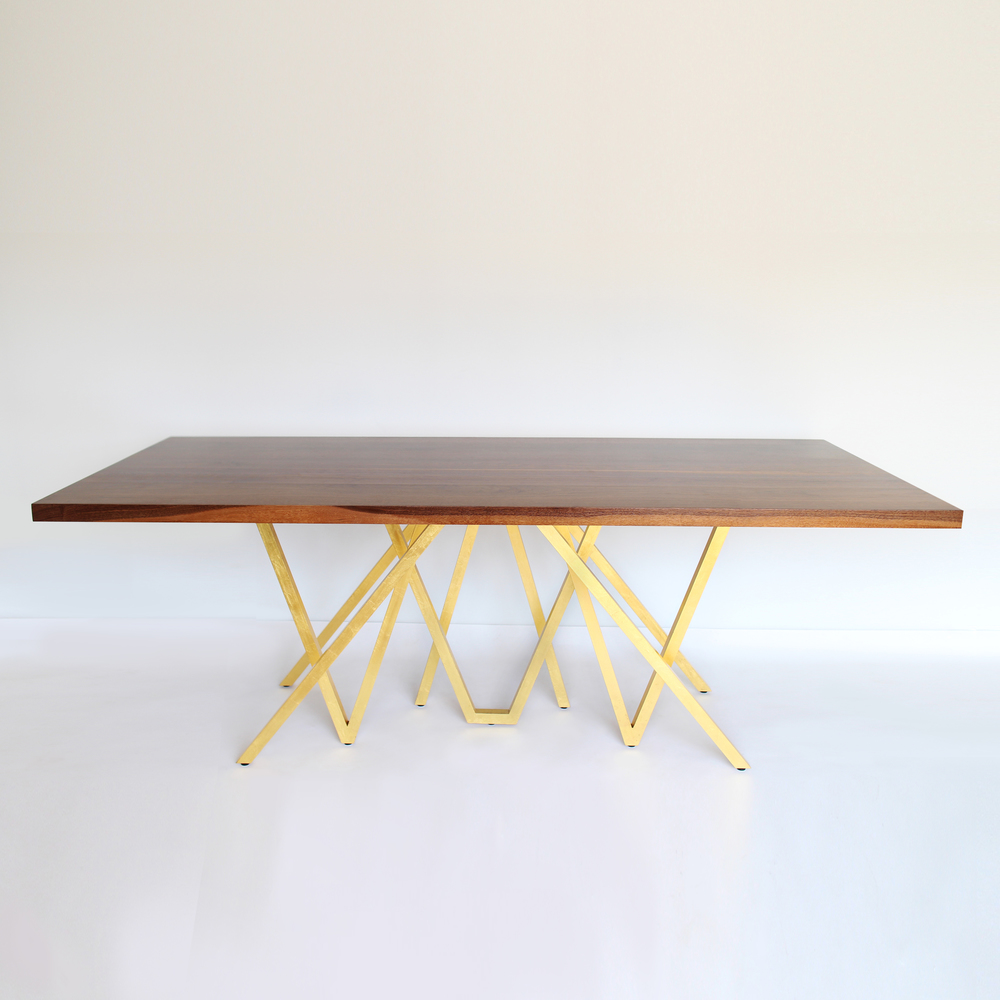 """GOLDEN BLAZE"" DINING TABLE"