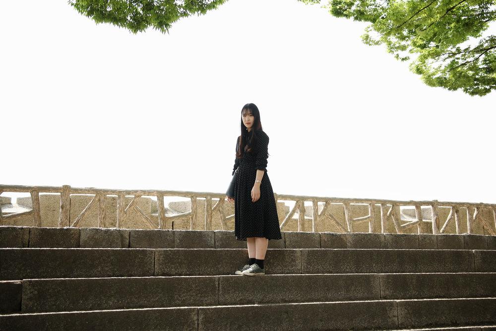 Sophie Osaka Castle, Japan 2017 Archival Pigment Print Edition of 2 + 1 AP 40 x 60 cm o 60 x 90 cms