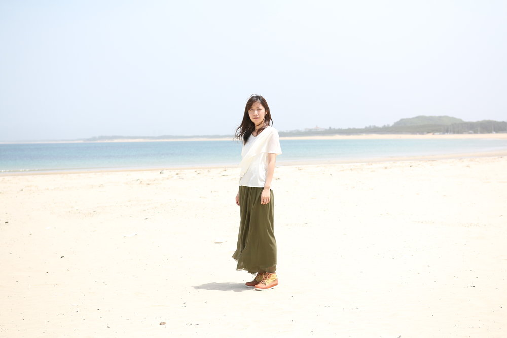 Shizuka Shika beach, Fukuoka, Japan 2017 Archival Pigment Print Edition of 2 + 1 AP 40 x 60 cms o 60 x 90 cms