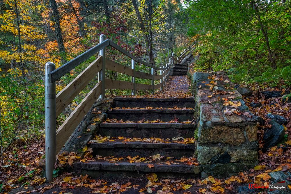 Taken at Kent Falls State Park in Kent, Connecticut, USA.