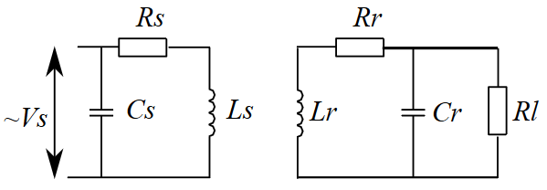 Resonant Inductive Coupling Schematic Source:  Wikipedia