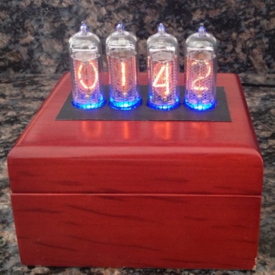 Completed Nixie Clock