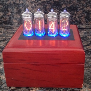 Nixie Clock using the HCS12