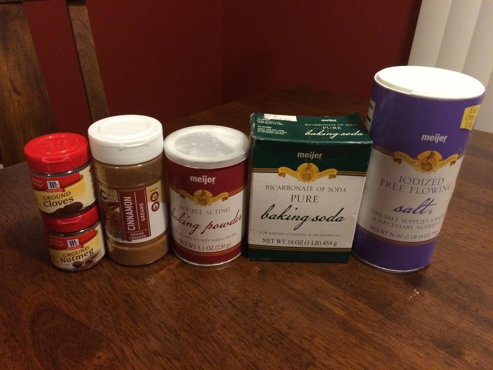 Dry Mixture Ingredients (2 of 2)