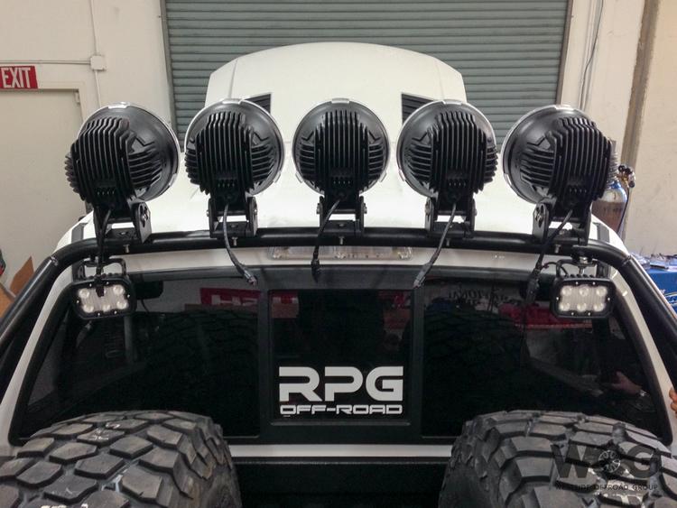Rpg rear light bar hoop westside offroad group rpg rear light bar hoop aloadofball Images