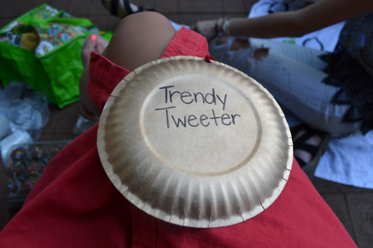 "At the end of the year, I was awarded as the ""Trendy Tweeter"" of Freshman Council!!"