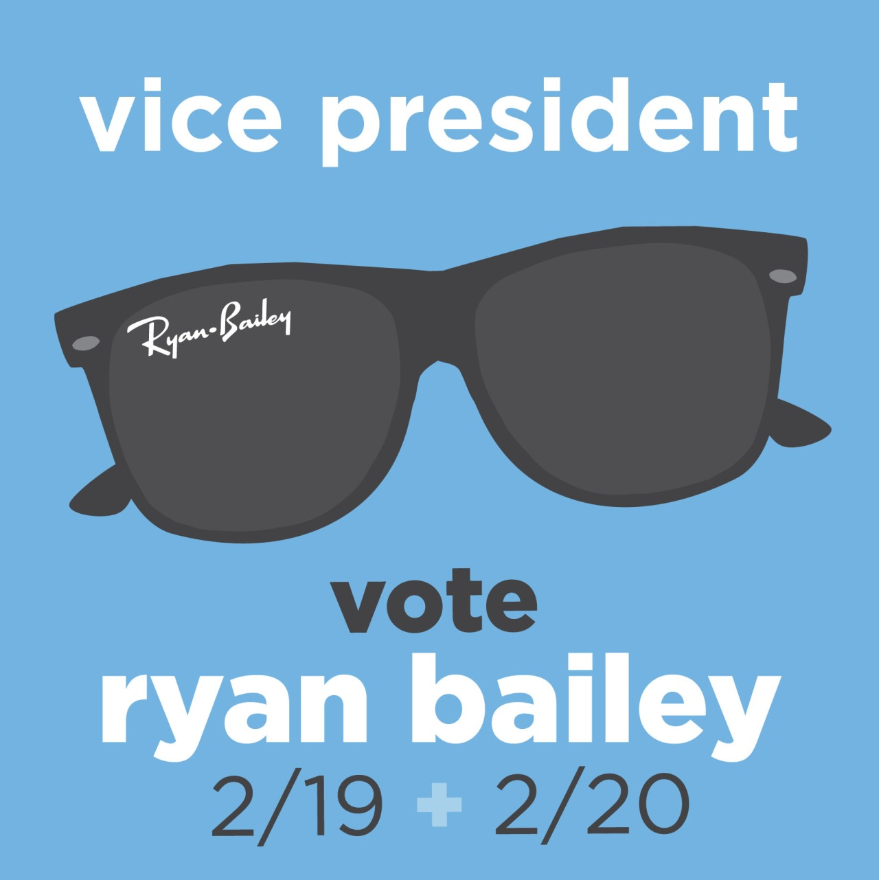 Student body election season has arrived again! I am assisting with a campaign strategy for the candidate as well as managing his social media. Wish us luck!
