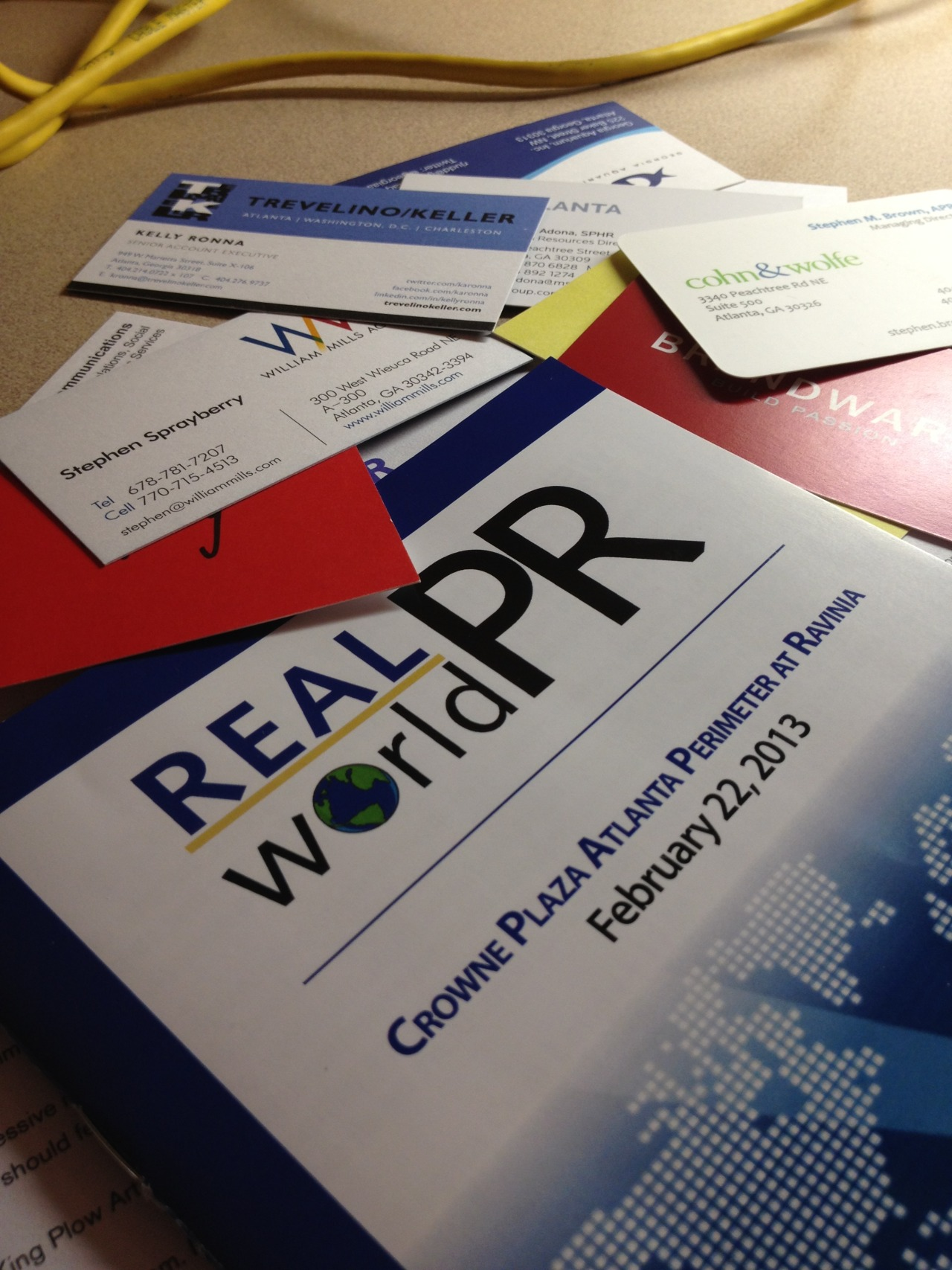 What a great weekend at Real World PR in Atlanta this weekend. I shook a lot of hands and learned valuable lessons about the world of public relations. Check out my Twitter @LianaTMiller for some of my tweets from the conference.