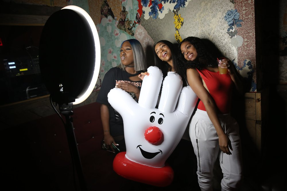 Digital and print photo booths