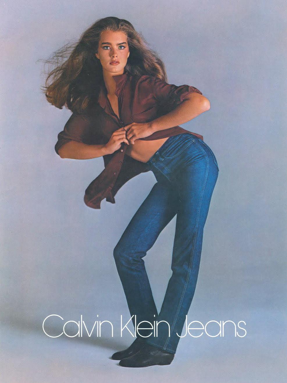 jeanscy brookie shields calvin klein