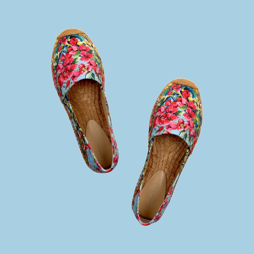Espadryle - Dolce&Gabbana - Spring / Summer 2015