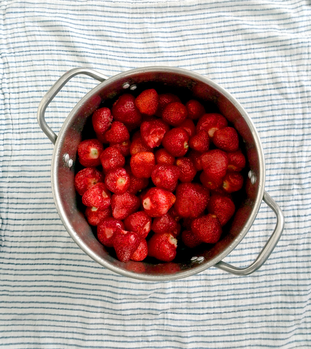 przepis na dżem truskawkowy