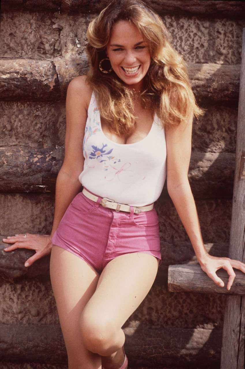 "Catherine Bach w serialu ""The Dukes of Hazzard"""