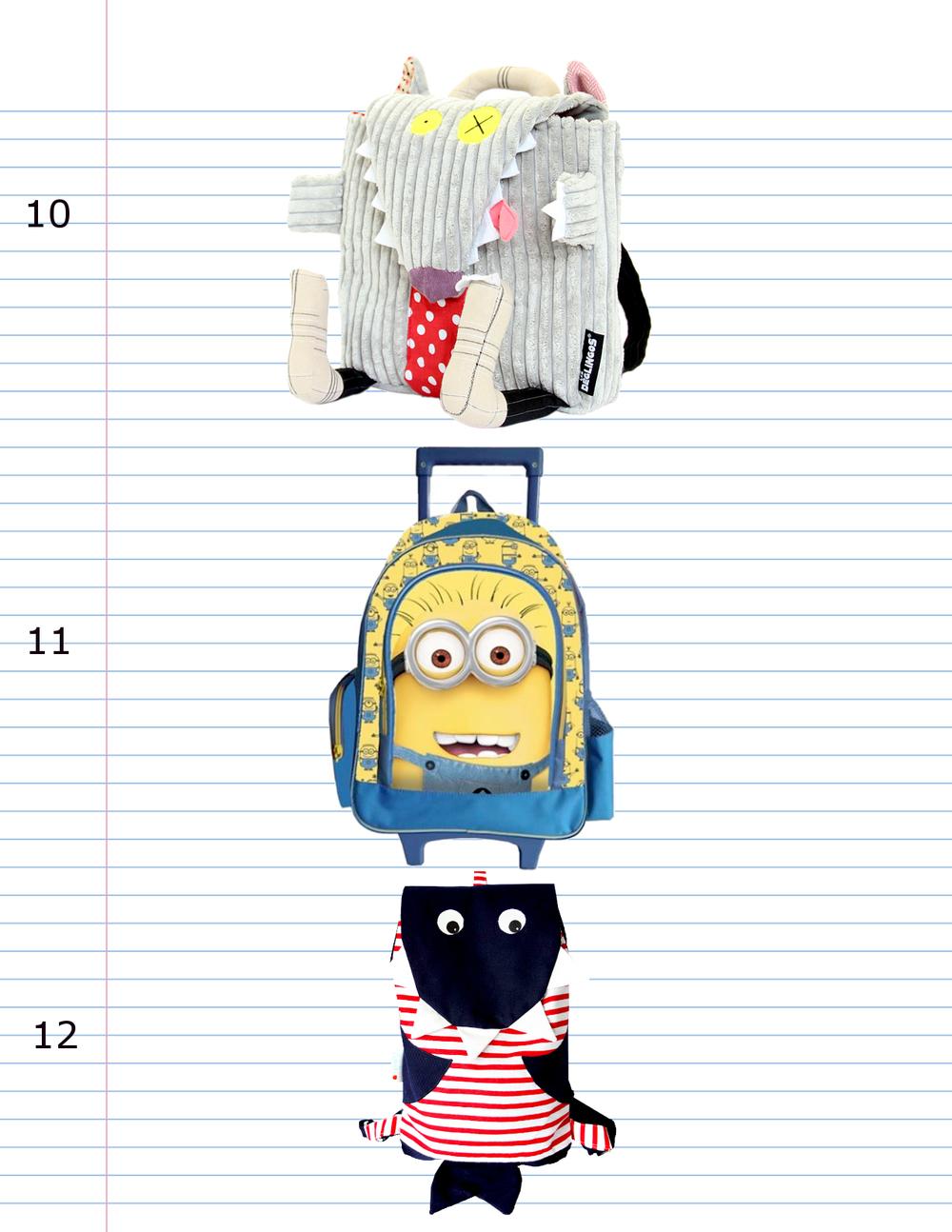 plecaki i tornistry do szkoły 2015