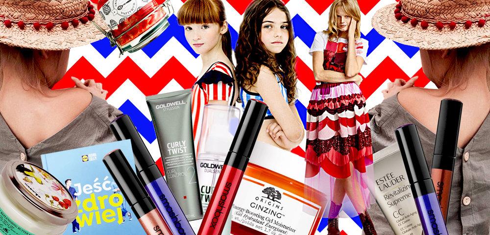 INSPIRACJE MIESIĄCA kosmetyki moda dzieci