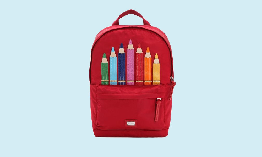 dolce gabbana backpack school