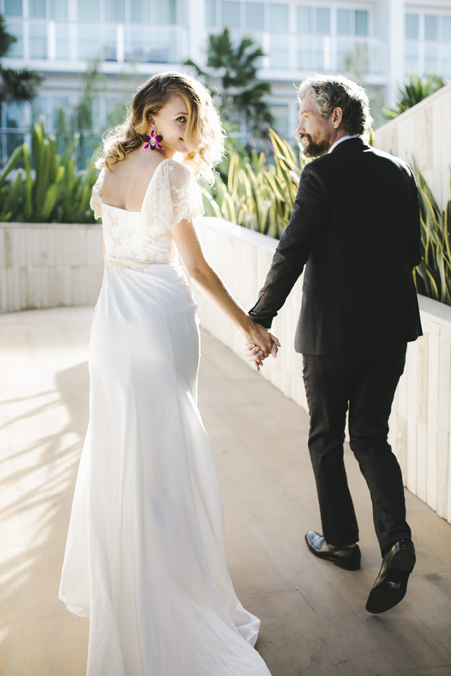 European Destination Wedding in Bali: Kelsey Genna Dress