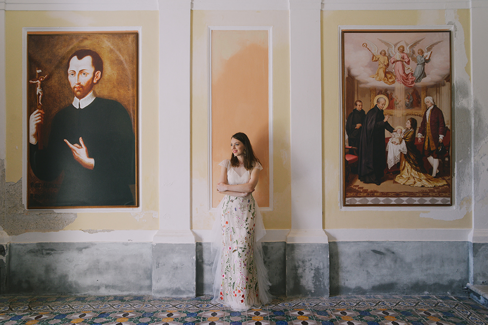 Kelsey Genna Elopement Dress Amalfi