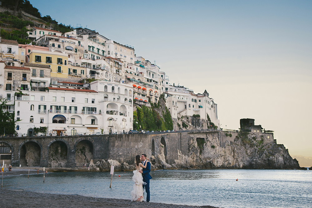 Kelsey Genna Italy Elopement Dress
