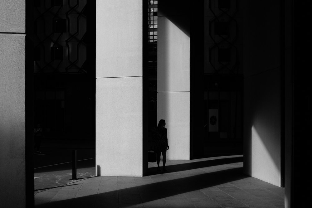 High contrast silhouettes and shadows | Sydney, 2018