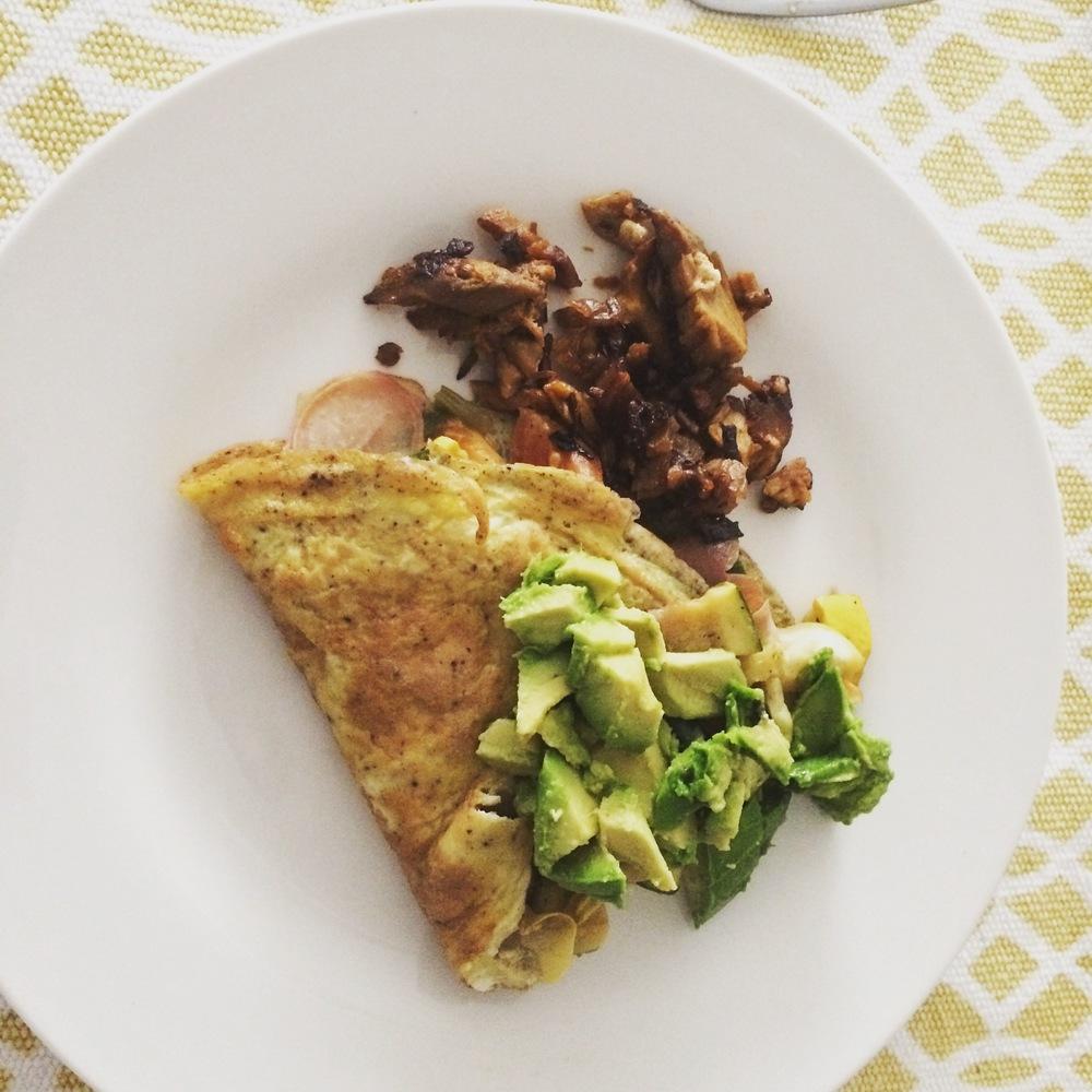 Omelet and Chorizo.JPG