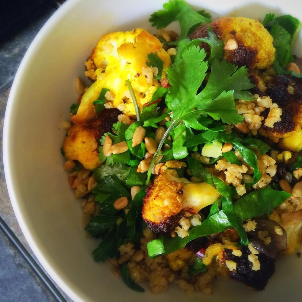 Turmeric Spiced Plant Based Bowls    Cooking Demo at Work. Ideal for Lunchtime or after work social hours.     Groups of 10-40