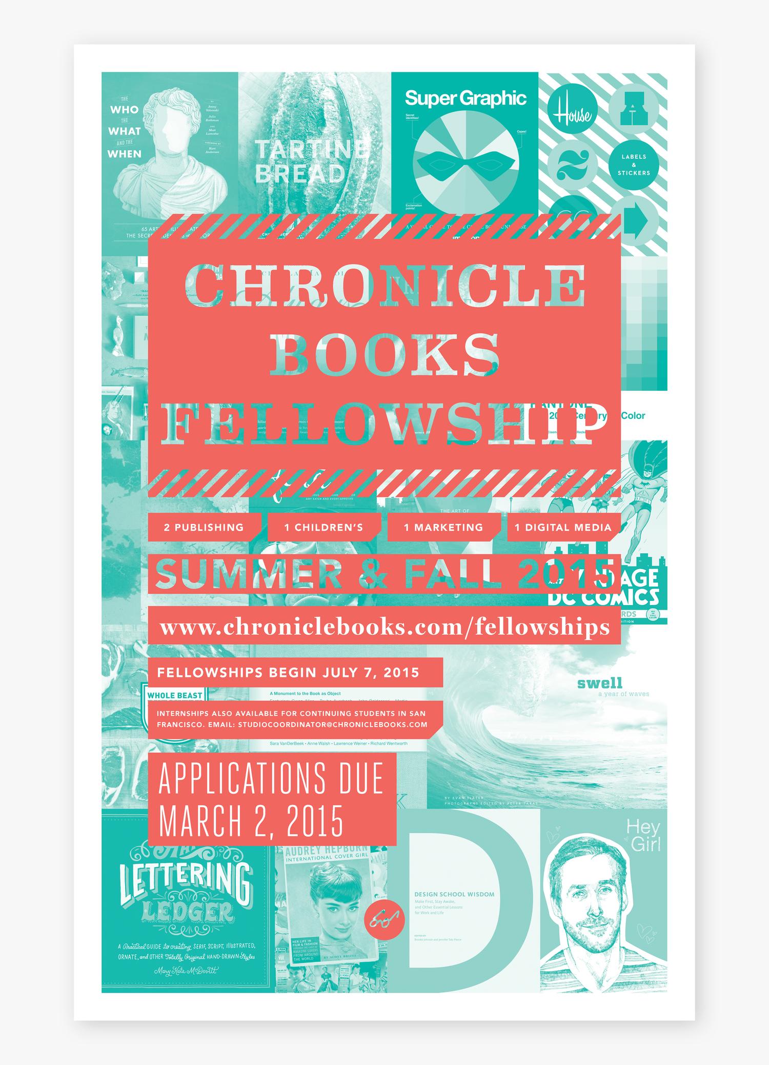 2 color poster design - Chronicleposter_1 Jpg