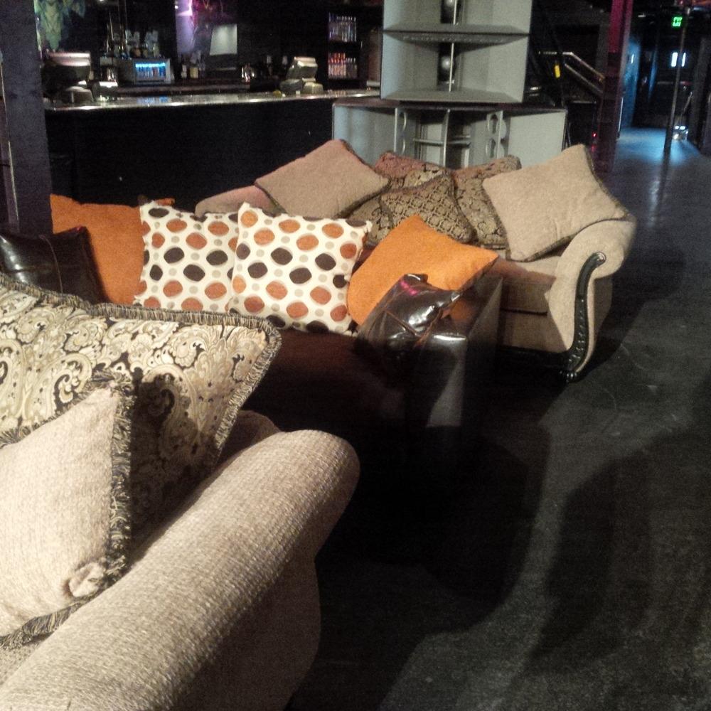 Clara Two Tone Sofa
