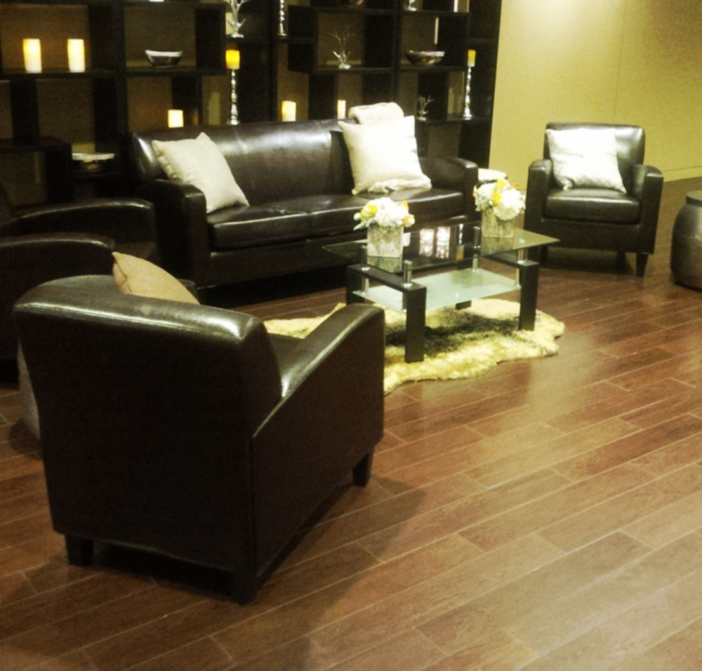 Contemporary Brown Leather Furniture
