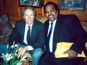 Daryl Davis with Clint Eastwood