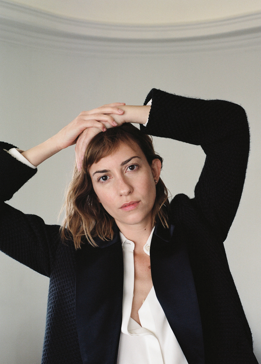 Gia Coppola wears Rosetta Getty / Zine Nº3