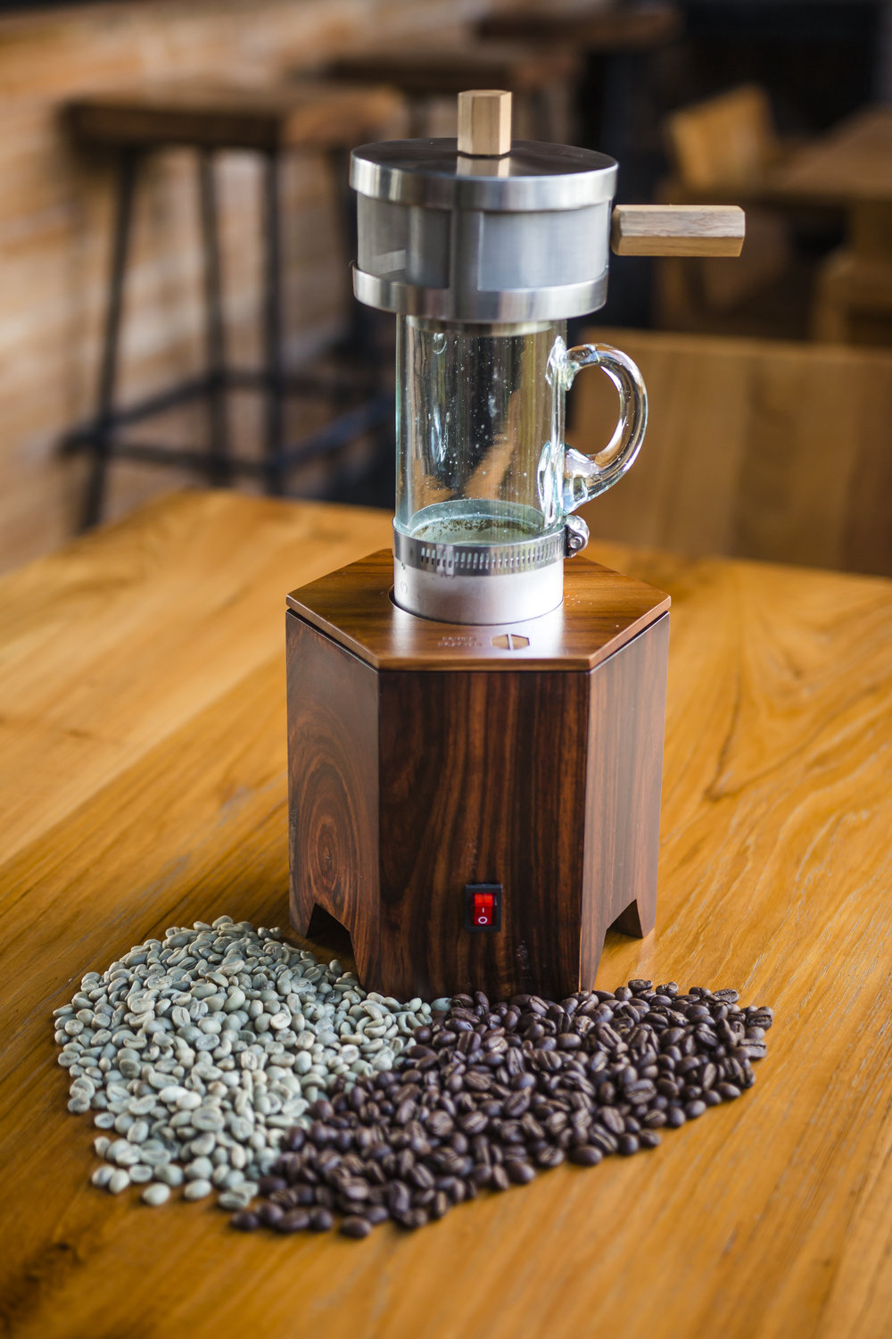 The Power Roaster - home roasting has never been easier or more affordable!