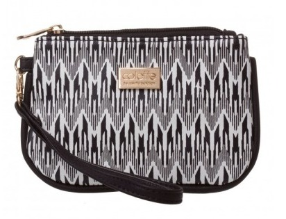 The wristlet piping purse from Colette Hayman is the ideal handy little bargain to add a little aztec to your world. shop it here #affiliate