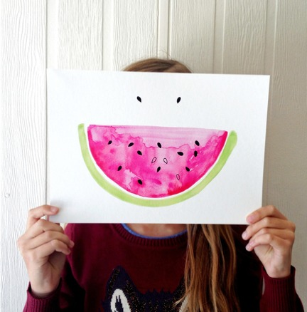 Summertime Smile Art Print by Core, $31.95. Available online at Little Paper Lane, shop now.