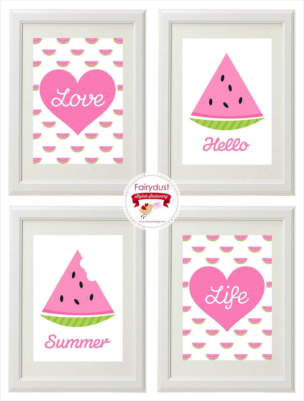 The beautiful and talented Toni of boutique Adelaide stationery institution brings us her Hello Summer set of prints $50, shop now over at madeit.com.au.