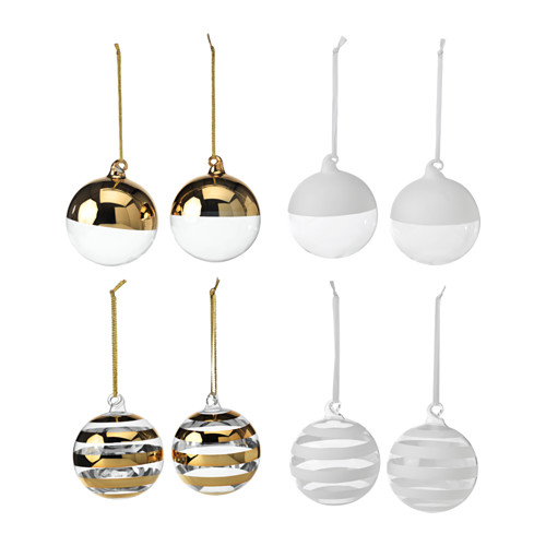 beautiful gold baubles :: Ikea