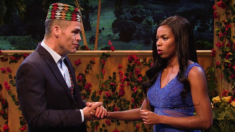Hollywood Reporter - 'The Bachelorette' Applauds Its Own Diversity in Cut 'SNL' Sketch: