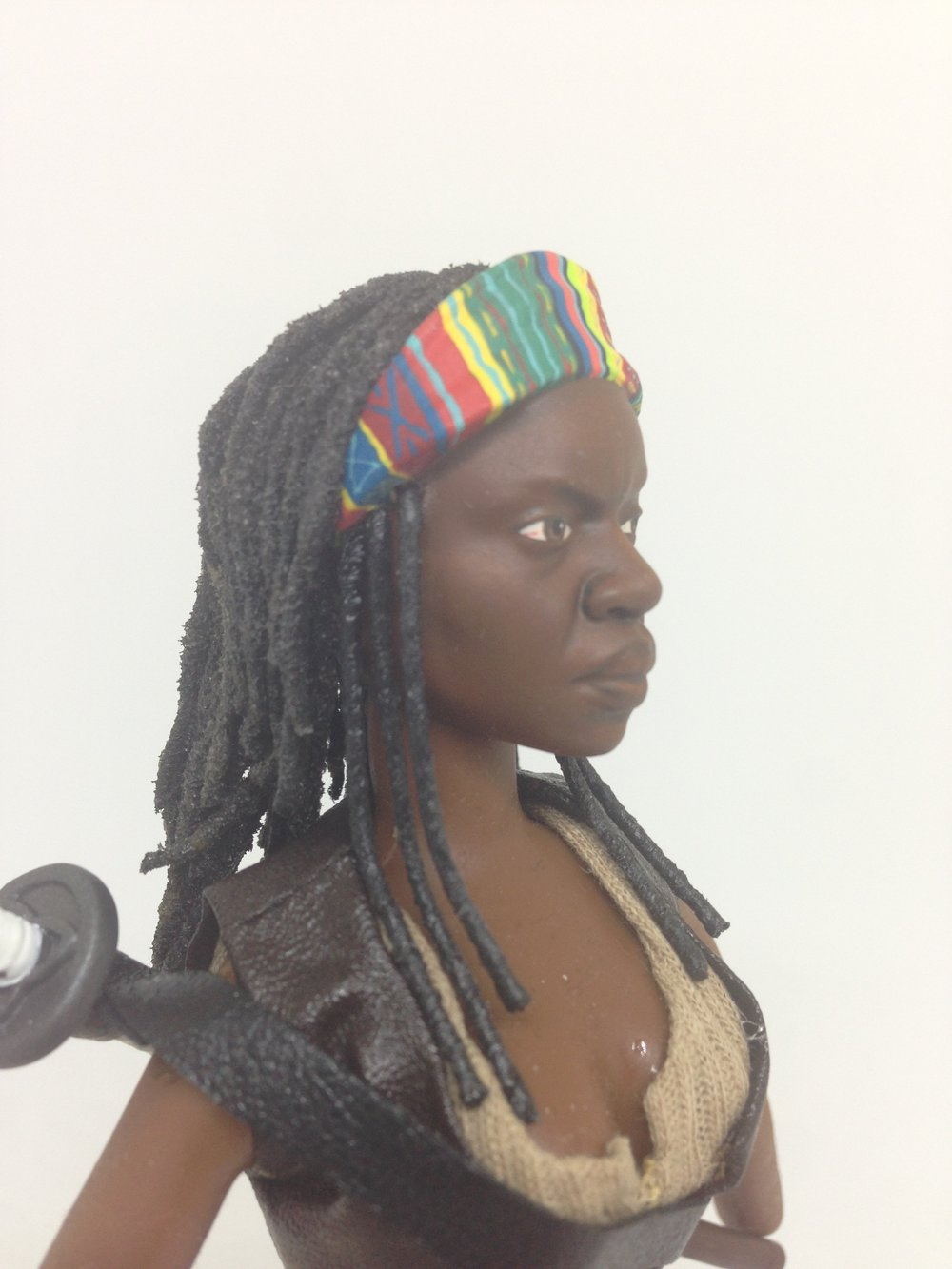 Michonne (Hair Fabrication) - RC Walking Dead Special