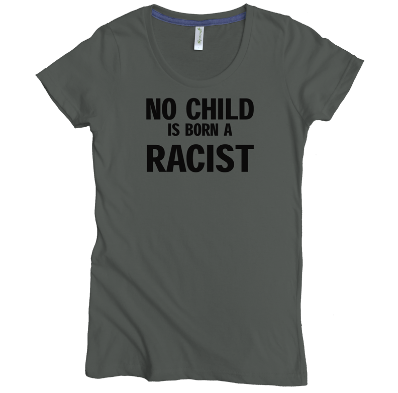 no child is born a racist W graphite.png
