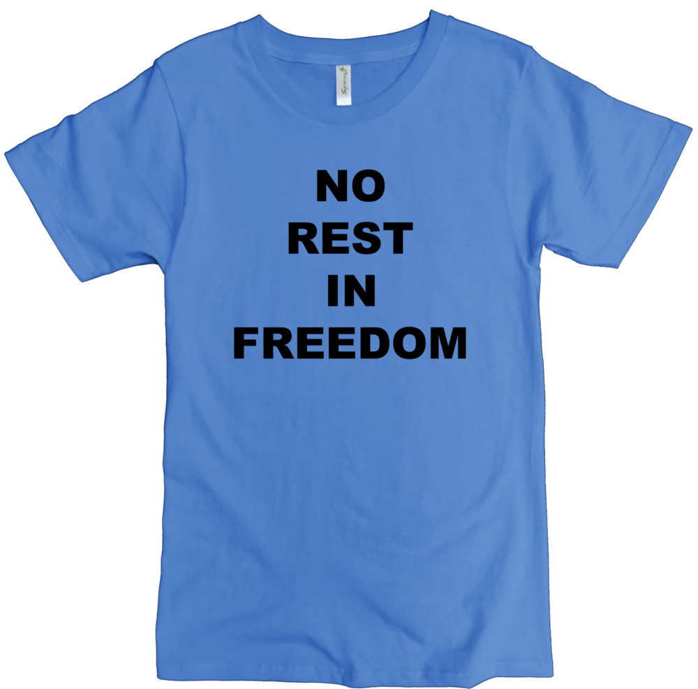 no rest text M columbia blue.png