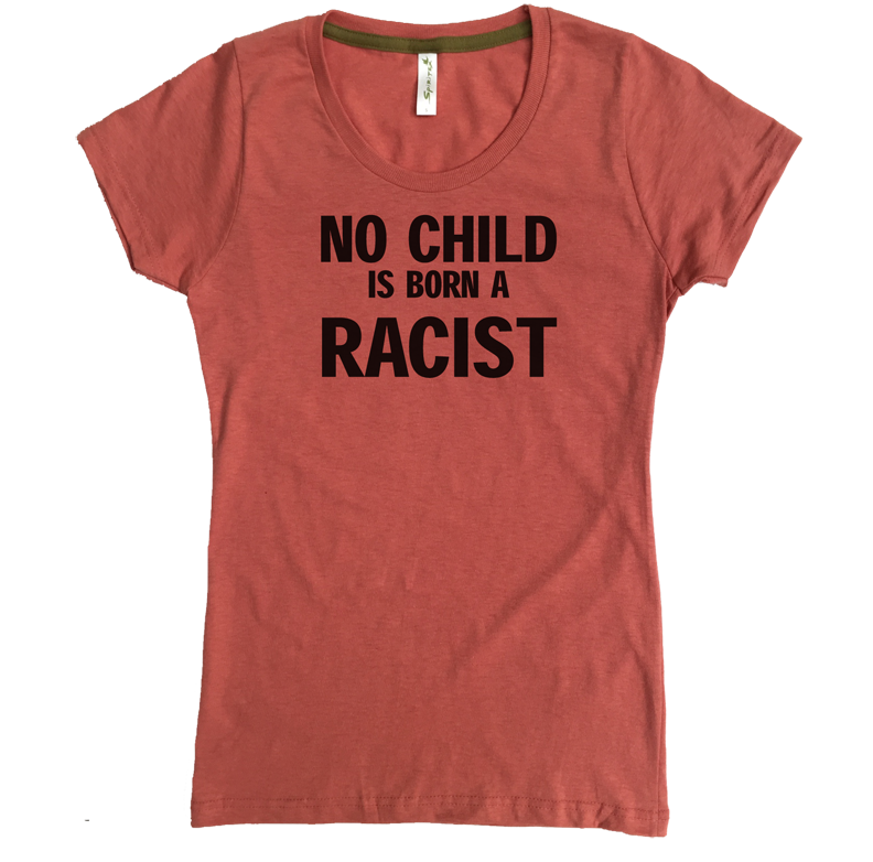 no child is born a racist W coral.png