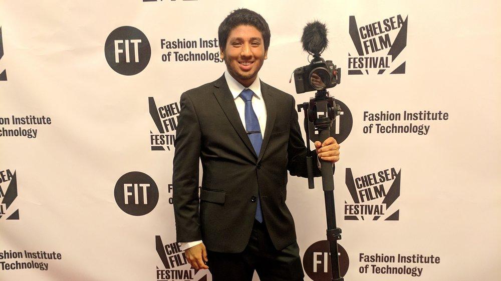 Mizanur Rahman at Chelsea Film Festival